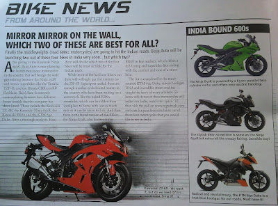 Bigger Kawasaki Models for India
