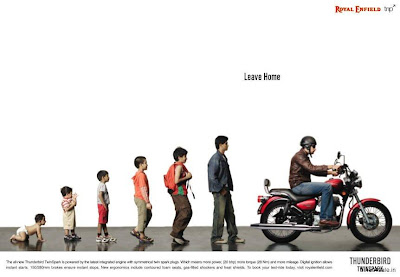 Royal Enfield Thunderbird- Leave Home