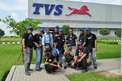 Indonesian 2 Wheeler Bloggers @ TVS Indonesia