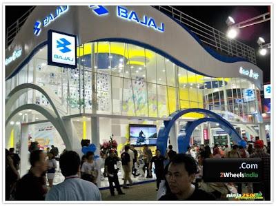 Bajaj Stall @ Jakarta Fair 2010