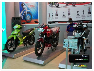 TVS Models on Display @ Jakarta Fair 2010