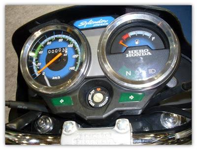 Hero Honda Splendor Pro Speedometer