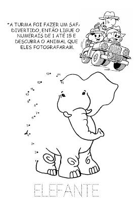 LIGA NUMERAIS Turma da Mônica