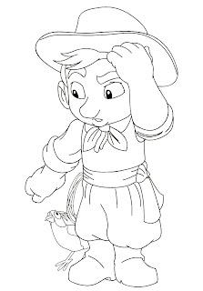 gauchinho 755459 Mais desenhos para colorir do Dia do Gaúcho para crianças
