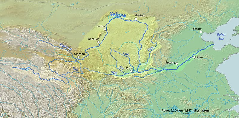 Where Is The Huang He River Located On A World Map 69124 Usbdata