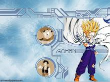 **Gohan el primer hijo de Goku,hermano mayor de Goten**.