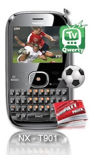 Nexian NX-T901 TV QWERTY
