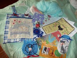 Estos regalos le envie yo a María Luisa..España