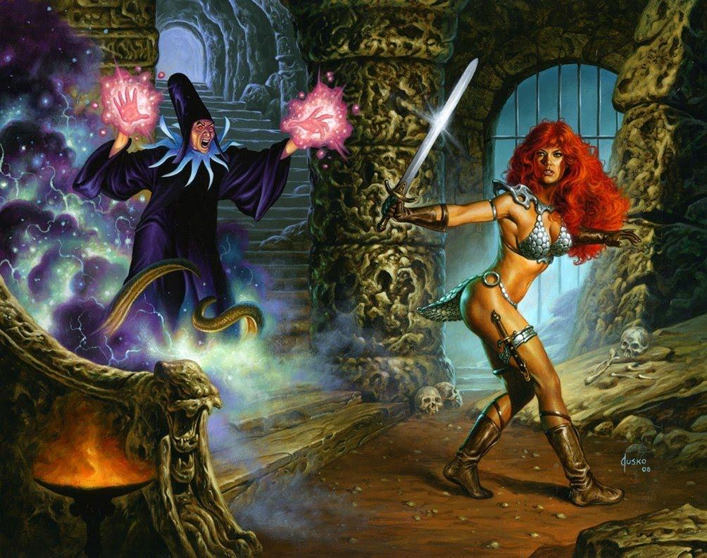 Cronologia de Sonja Red+Sonja+-+Sorcerers+realm