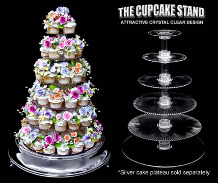 Wedding cupcake display ideas along with single tier wedding cakes