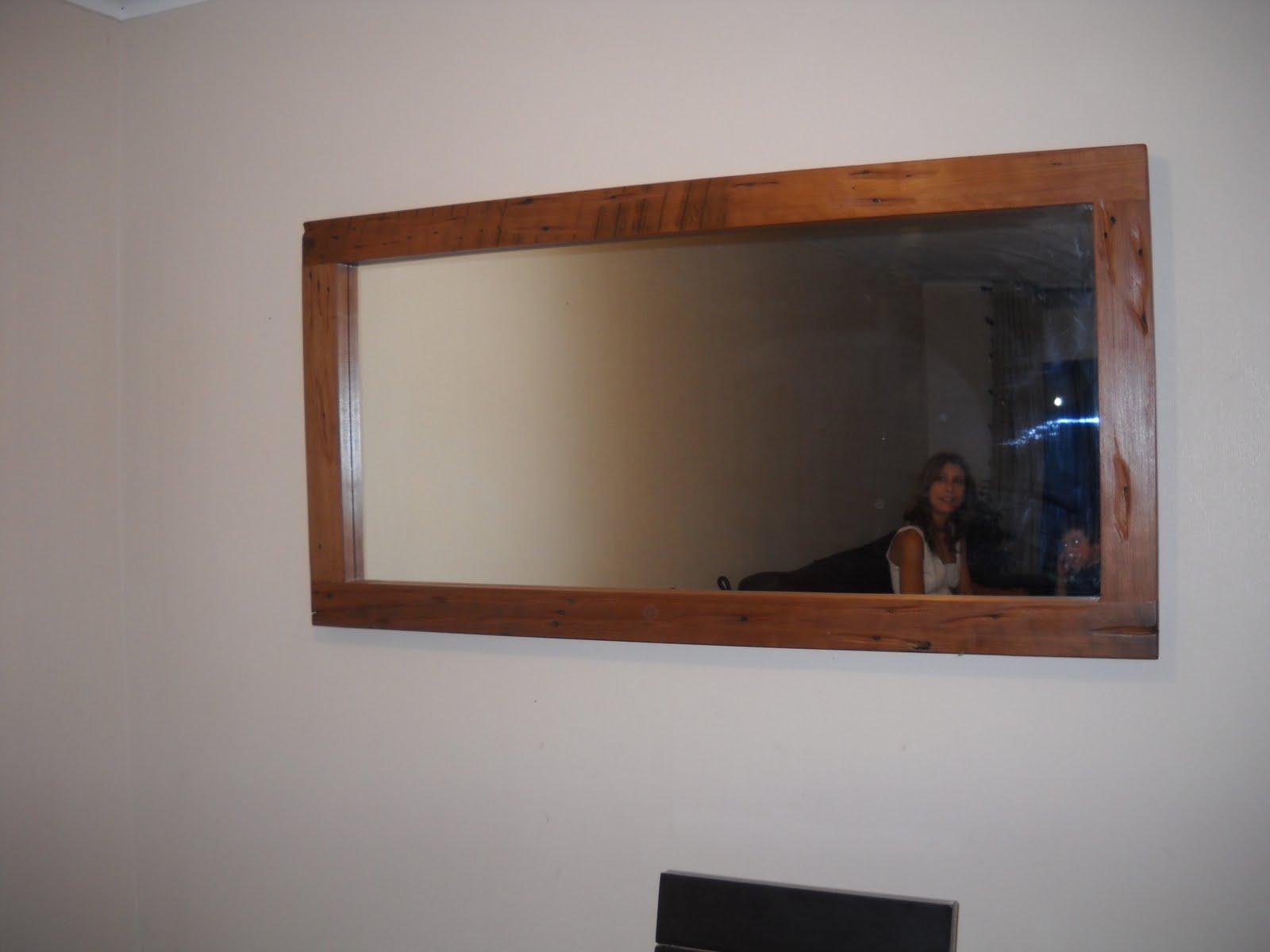 Muebles kotue arrimos mesa de centro y espejo for Espejos para mesa