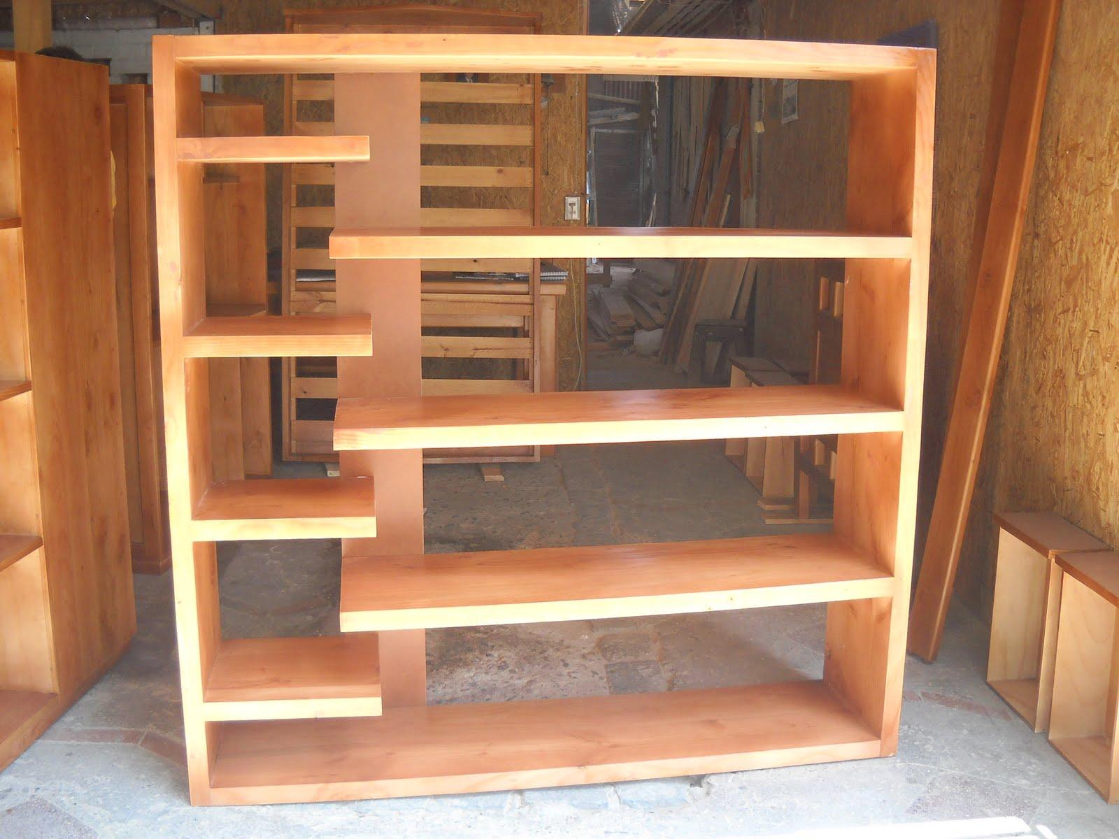 Repisas de madera imagui - Muebles madera ...