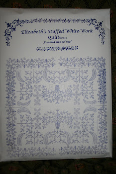 Reproduction White work Pattern