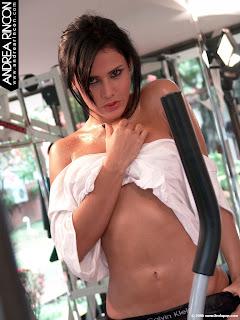 fotos modelos fotos de famosas chicas en bikiniAndrea Rincon, GYM