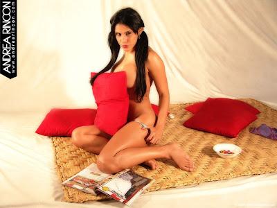 chicas mas chicas atrevidas mujeres morenasAndrea Rincon, fotos