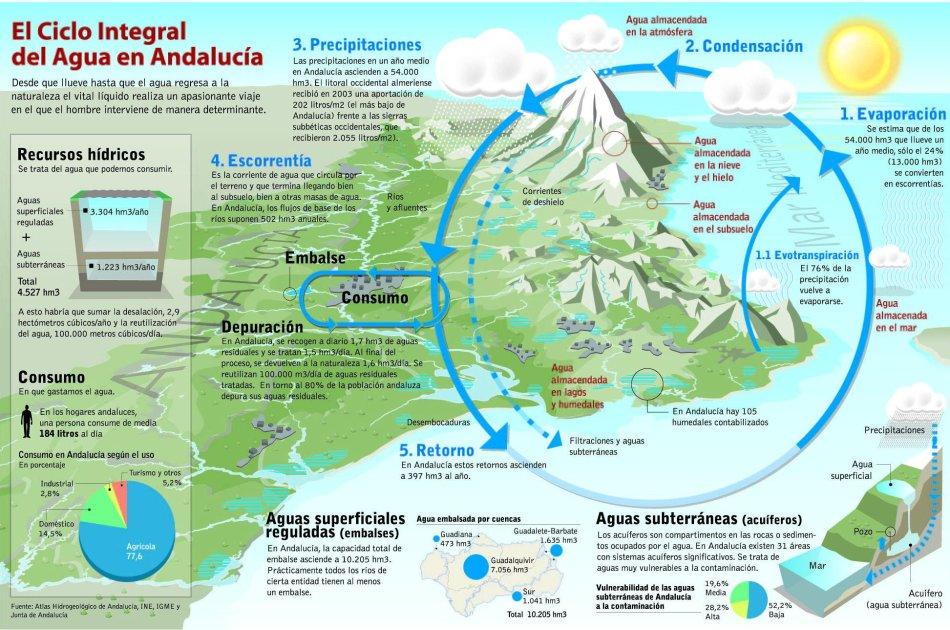 siclo del agua: ciclo del agua