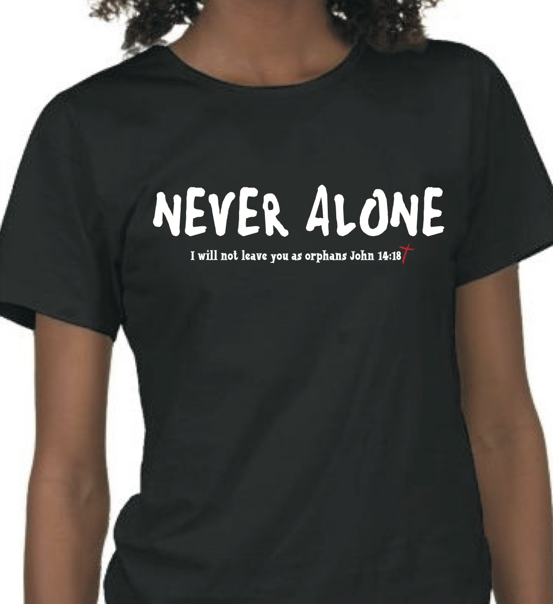 blessings a hundred fold never alone t shirt fundraiser