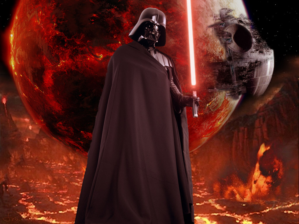 3 wallpaper Darth Vader