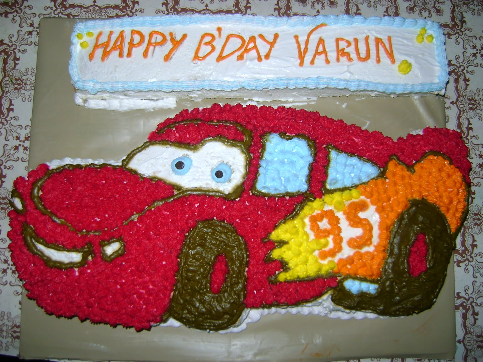 Birthday Cake With Name Ganesh ~ Happy birthday chocolate cake for my chocolate brothers asif nd
