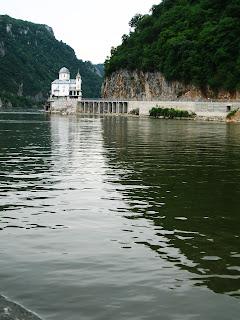 Turism in Romania Dunarea punct turistic