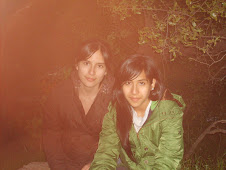 My sister and me in Los Valles de Miraflores at  September 18