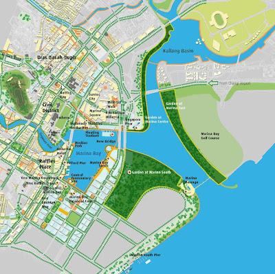 Marina Bay Attractions In Progress