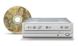 LG GSA-H20L DVD Writer with LightScribe
