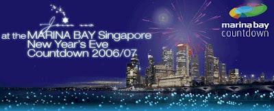 Countdown Fireworks @ Marina Bay