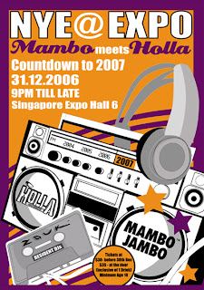 New Year's Eve @ Expo Singapore MamboHolla Party
