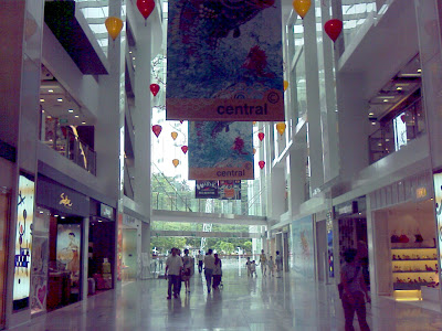 Central Shopping Mall Atrium
