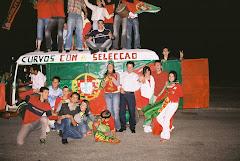 Curvos no apoio à Selecção Nacional de Futebol