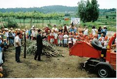 Inauguração do Parque de Compostagem de Curvos