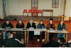 Tomada de posse presidente do Forum Curvense em 2000