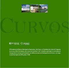 INAUGURAÇÃO DO POLIDESPORTIVO DE CURVOS NO DIA 8 DE AGOSTO DE 2010