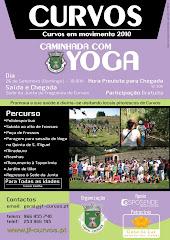 CAMINHADA COM YOGA EM CURVOS, DIA 26 DE SETEMBRO