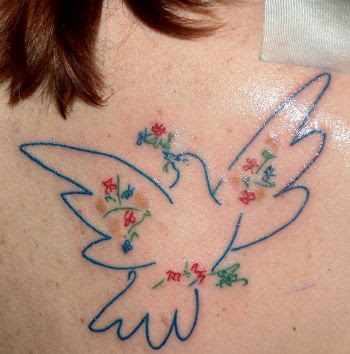 Dove tattoo image