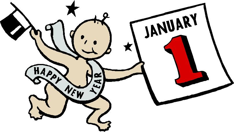 History of baby new year