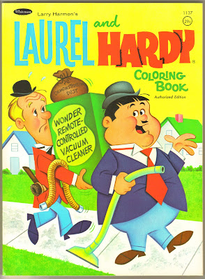 The Western Printing Archive Im Offering This MINT Copy Of 1968 Whitman LAUREL AND HARDY Coloring Book Is An Unused And Uncirculated