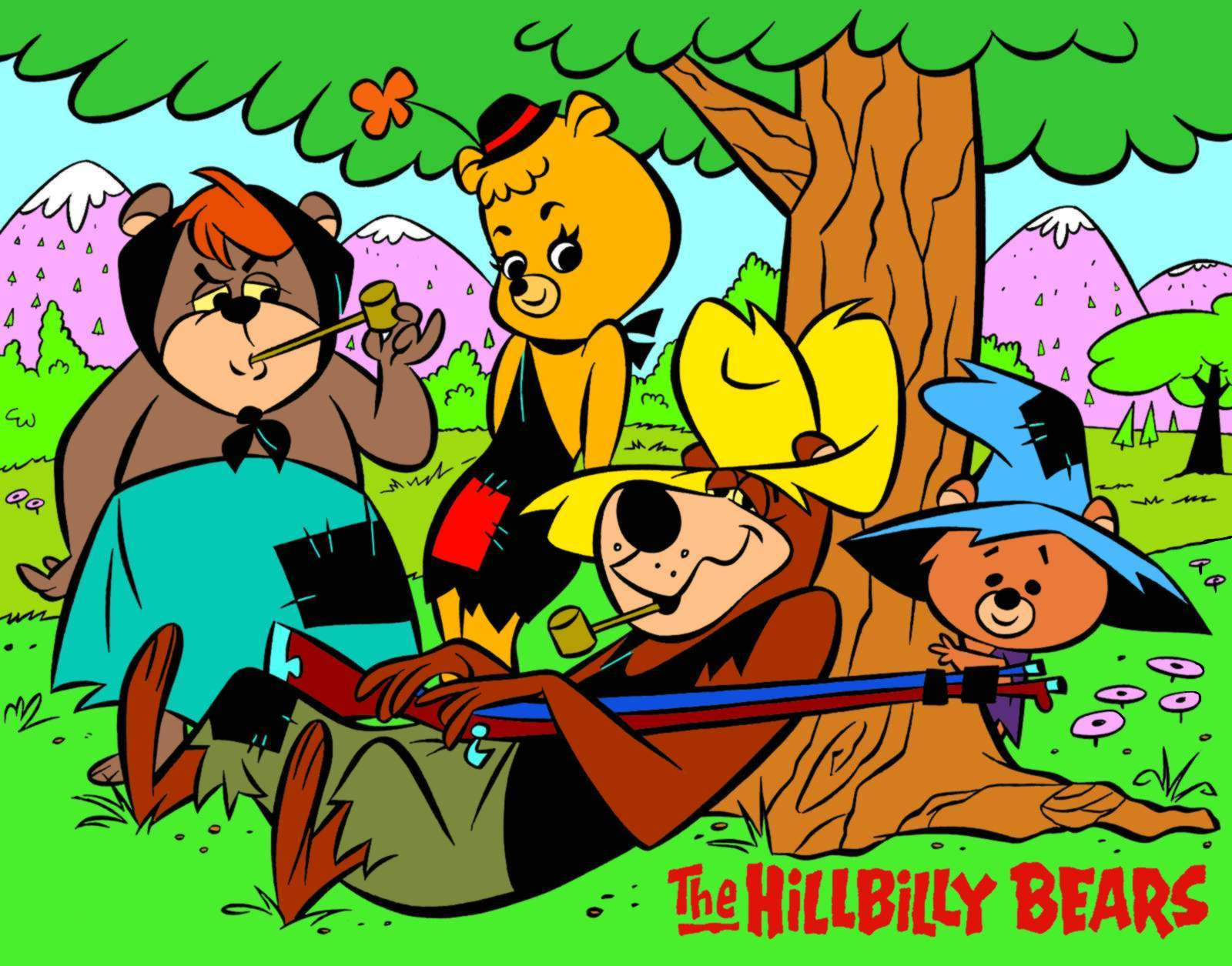 Cartoon Characters From The 70 S : Patrick owsley cartoon art hillbilly bears
