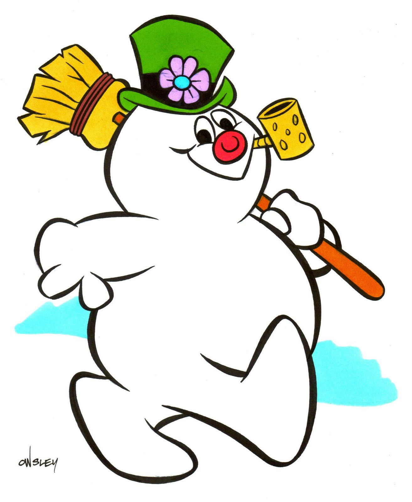 Patrick Owsley Cartoon Art and More!: FROSTY THE SNOWMAN ORIGINAL ...
