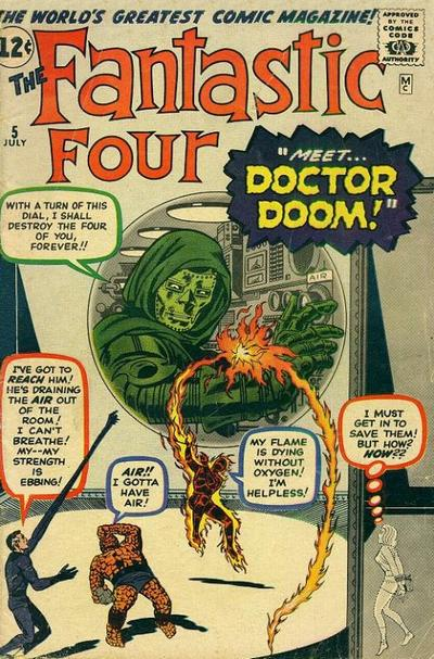 Doctor Doom Chronology Part 1