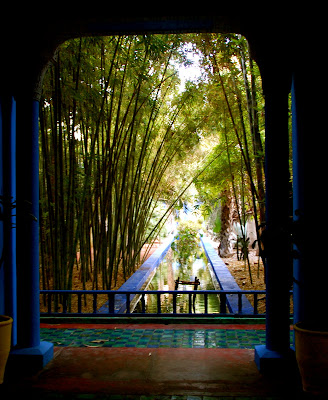 A bloomsbury life the london marrakech express part six - Residence les jardins de majorelle marrakech ...