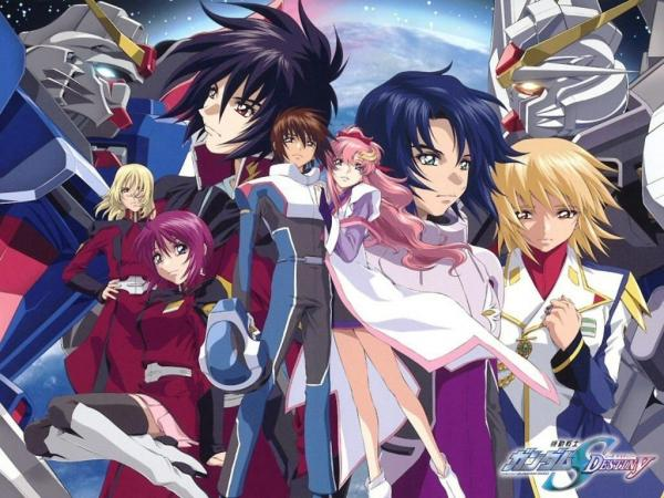 Gundam Seed Wallpapers. Gundam SEED Destiny Wallpaper