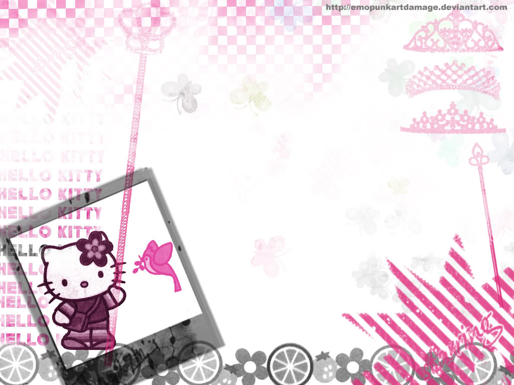 Wallpaper Hello Kitty Imut Dan Lucu