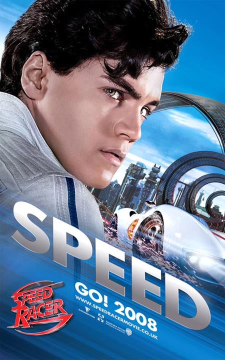 Free Movie Poster 2008 Speed Racer Movie Poster