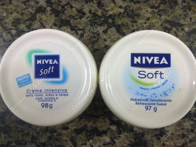 Creme Nívea Soft