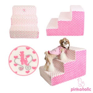 blog dog attitude escalier pour chiens melody hearts. Black Bedroom Furniture Sets. Home Design Ideas