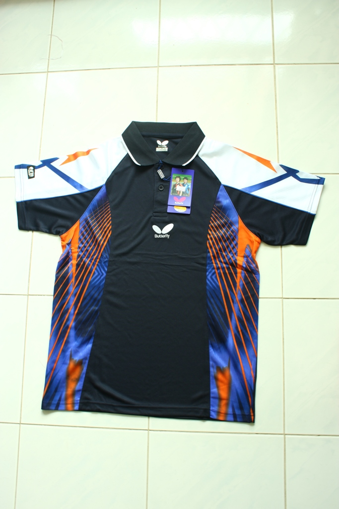 Table tennis world butterfly t shirt for table tennis for Table tennis shirts butterfly