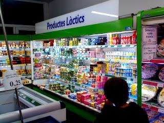 foto nevera productes lactis
