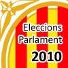Logo elecciones parlamento de Cataluña 2010